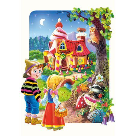 Castorland Jigsaw Puzzle - 20 Maxi db : Hansel and Gretel