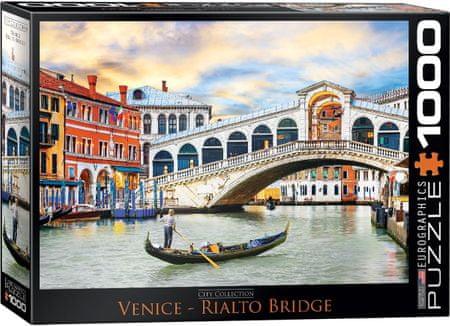 EuroGraphics Puzzle 1000 db Venice - Rialto Bridge