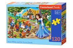 Castorland Puzzle 120 db Snow White and the Seven Dwarfs