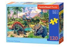Castorland Svet dinosaurov II 120 dielikov