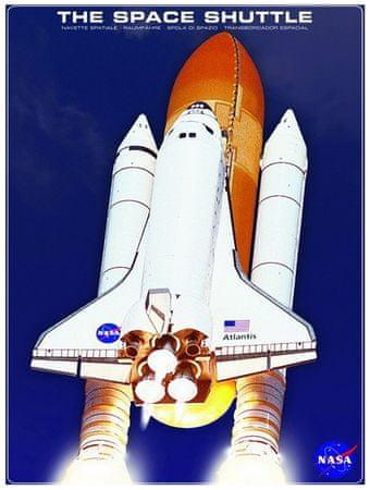 EuroGraphics Puzzle 1000 db La Navette spatiale Atlantis NASA