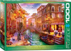EuroGraphics Puzzle 1000 db Dominic Davison - Sunset over Venice