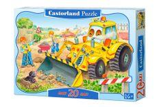 Castorland Bulldozer in Action 20 dielikov