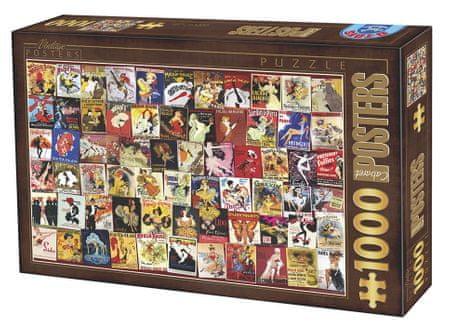 D-Toys Puzzle 1000 db Collection Vintage - Cabaret
