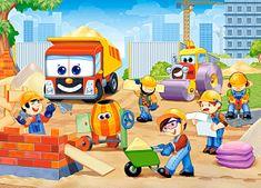 Castorland Funny Construction Site