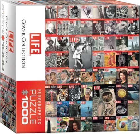 EuroGraphics Puzzle 1000 dílků Life Cover Collection