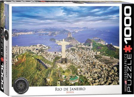 EuroGraphics Puzzle 1000 db Rio de Janeiro