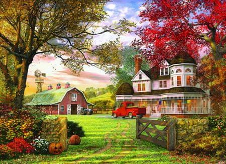 EuroGraphics Puzzle 1000 db Dominic Davison: Old Pumpkin Farm