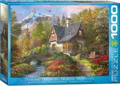EuroGraphics Puzzle 1000 db Dominic Davison - Nordic Morning