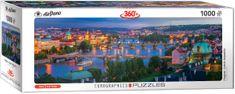 EuroGraphics Puzzle 1000 dílků Prague Czech Republic