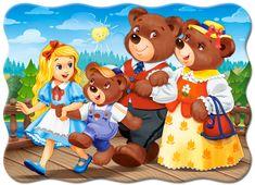 Castorland Goldilocks and the Three Bears