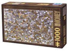 D-Toys Puzzle 1000 pieces Collection Vintage - Pièces de Monnaie