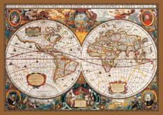 KS Games Puzzle 2000 db Carte du Monde au 17ème Siècle