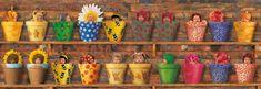 Schmidt Puzzle 1000 db Anne Geddes: Spring Awakening