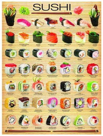 EuroGraphics Puzzle 1000 db Sushi