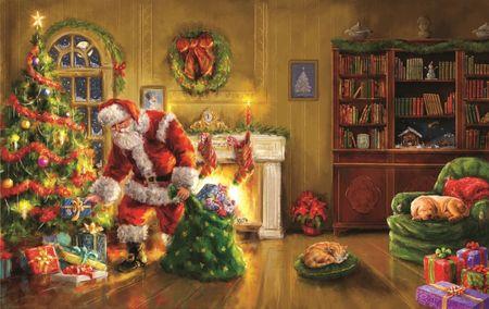 SunsOut Puzzle 550 db Marcello Corti - Santa's Special Delivery