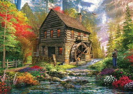 KS Games Puzzle 2000 dílků Dominic Davison: Mill Cottage
