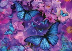 KS Games Puzzle 1000 pieces Alixandra Mullins - Violet Morpheus