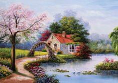 KS Games Puzzle 1000 db La Maison du Lac