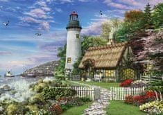KS Games Puzzle 1000 pieces Dominic Davison : Le Vieux Cottage du Bord de Mer
