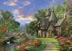 KS Games Puzzle 1000 db Dominic Davison : Le Vieux Cottage au bord de l'Eau