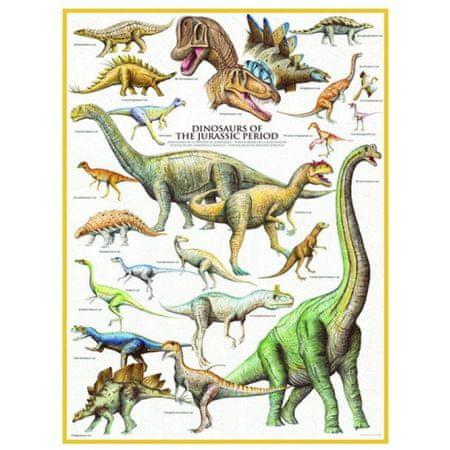 EuroGraphics Puzzle 1000 db Les Dinosaures - Période du Jurassique