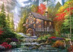 KS Games Puzzle 1000 db Dominic Davison : Le Vieux Moulin en Bois