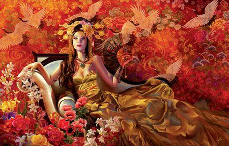 SunsOut Nene Thomas: Orchids