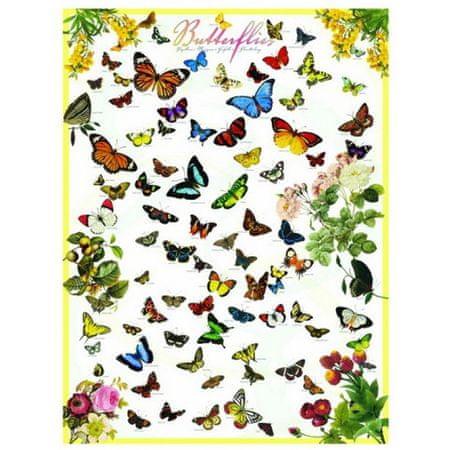EuroGraphics Puzzle 1000 dílků Jigsaw Puzzle - 1000 dílků - Butterflies