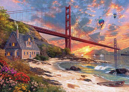 KS Games Puzzle 500 db Dominic Davison: Golden Gate