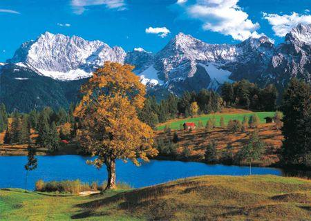 KS Games Puzzle 2000 dílků Alpes Bavaroises