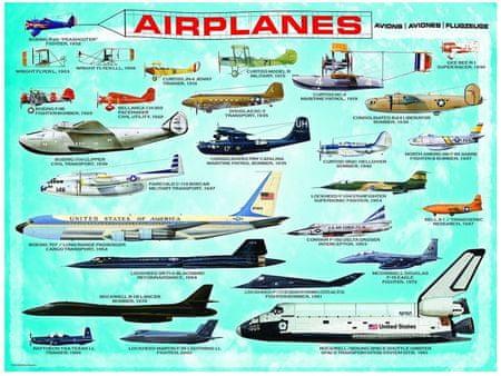 EuroGraphics Puzzle 100 db Avions