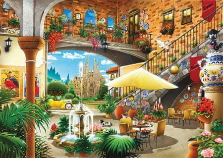 KS Games Puzzle 1000 db Barcelona