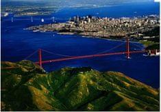 EuroGraphics Puzzle 1000 db Golden Gate Bridge - San Francisco CA