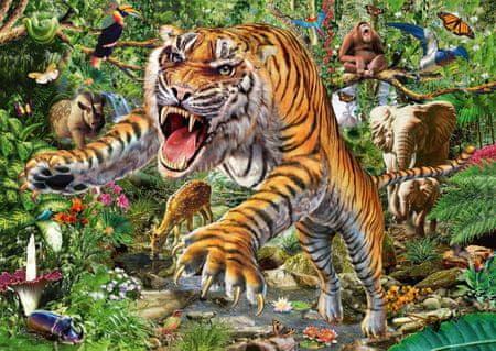 Schmidt Puzzle 500 db Tiger attack