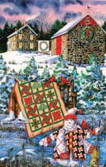 SunsOut Puzzle 1000 pieces Diane Phalen - A Christmas Cheer Quilt