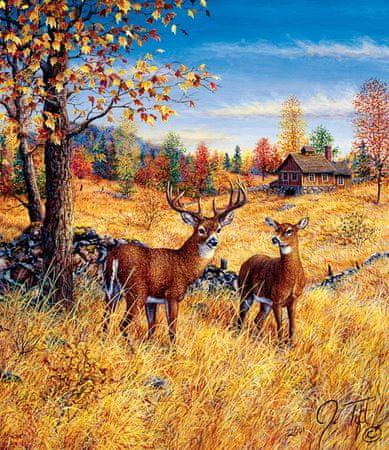 SunsOut Puzzle 550 db Jeff Tift - Colors of Autumn