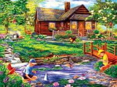 SunsOut Puzzle 1000 pieces Cory Carlson - Summer Retreat