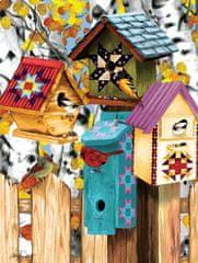 SunsOut Puzzle 1000 dílků Ashley Davis - Fall Birdhouses