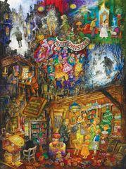 SunsOut Puzzle 1000 dílků Bill Bell - A Christmas Carol