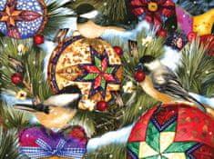 SunsOut Puzzle 1000 dílků Ashley Davis - Birds and Ornaments