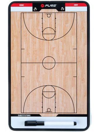 Pure2Improve trenerska tabla za košarko