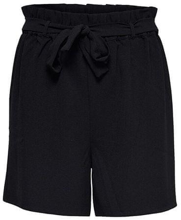 ONLY Dámske kraťasy Turner Paper Bag Shorts Wvn Noos Black (Veľkosť 34)