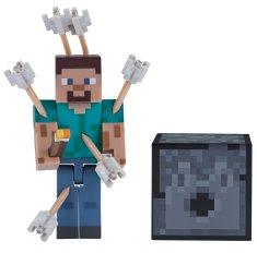 TM Toys Minecraft Figúrka Steve so šípmi