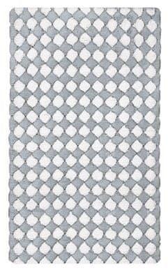 Kleine Wolke kopalniška podloga Merida, 60 x 100 cm, srebrno siva