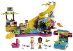 LEGO Friends 41374 Andrea i impreza przy basenie