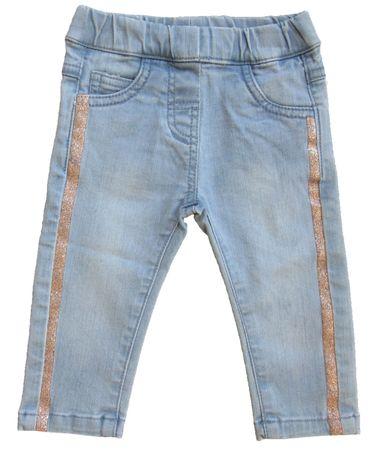 Carodel chlapčenské džínsy 74 svetlomodrá