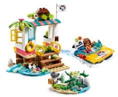 LEGO zestaw Friends 41376 Misja ratunkowa dla żółwi