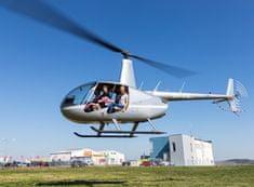 Allegria  Let vrtulníkem R44 pro 3 osoby - 6 minut Roudnice nad Labem