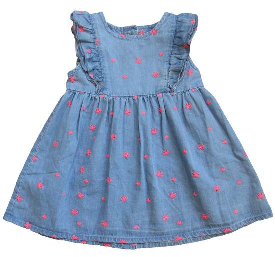 Carodel dievčenské šaty 68 ružová/modrá